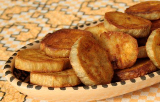 Batata doce frita