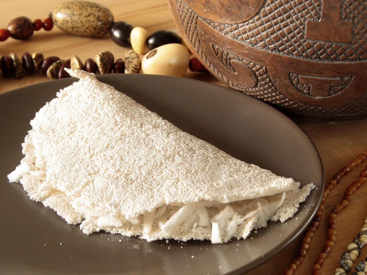 Beiju de tapioca (Tapioca Crepes)