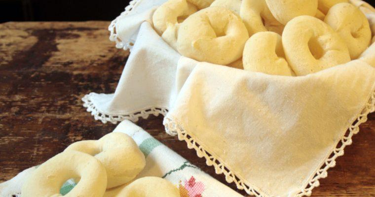Biscoito de Polvilho (Biscotti di fecola di manioca)