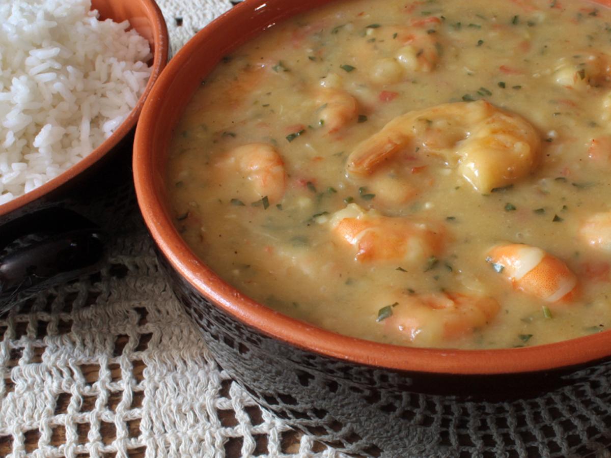 Bobó de camarão (Prawn in Creamy Cassava Sauce)