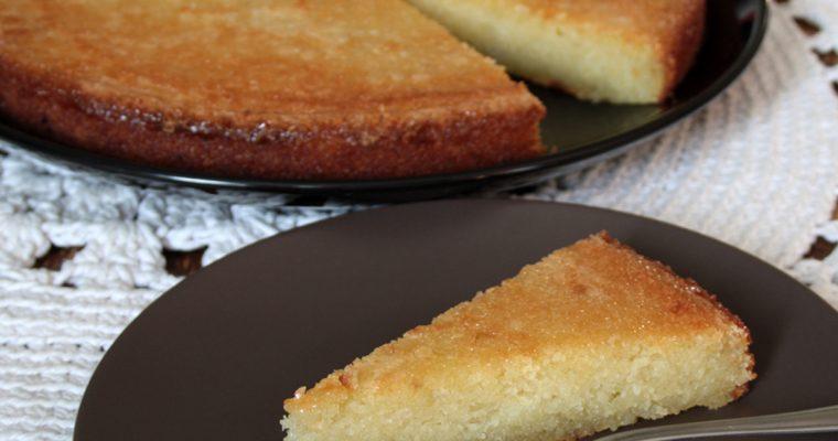 Bolo de aipim (Torta di manioca)