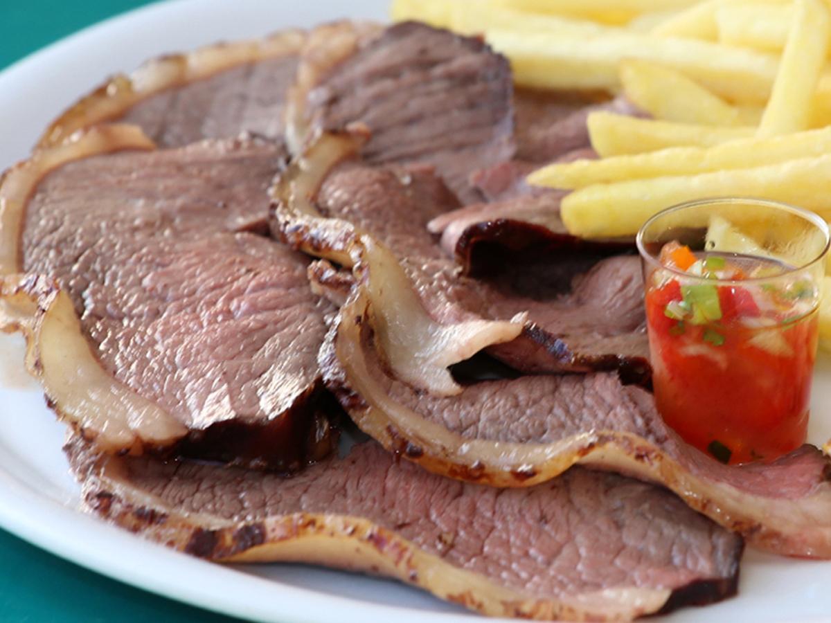 """Churrasco de picanha (Grilled """"picanha"""")"""