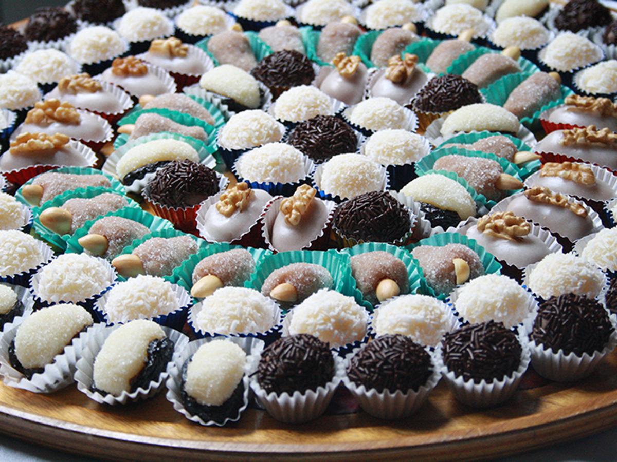Pasticcini di late concentrato zuccherato
