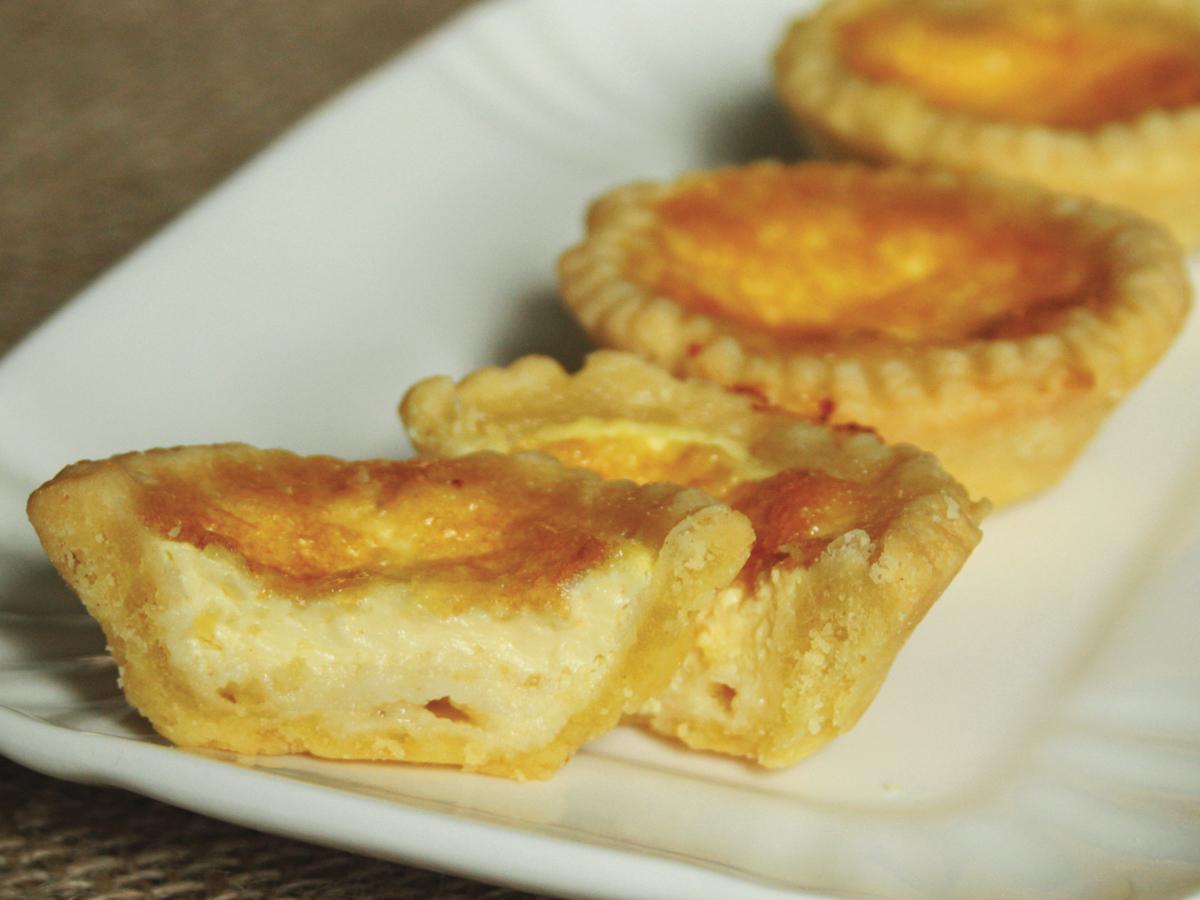 Empadinha de queijo (Tartelletta al formaggio)
