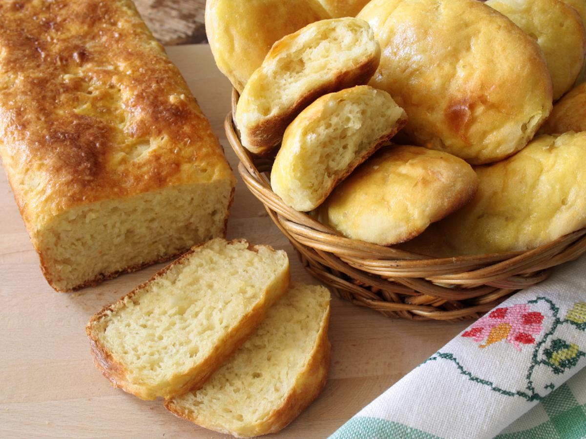 Pão de mandioca (Pane di manioca)