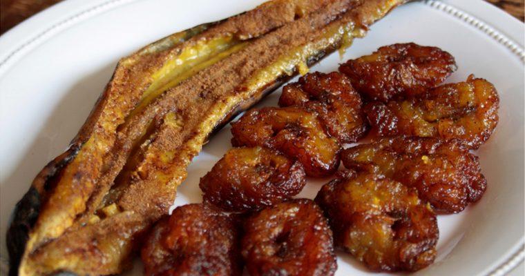 Banana da terra assada (Platano arrosto)