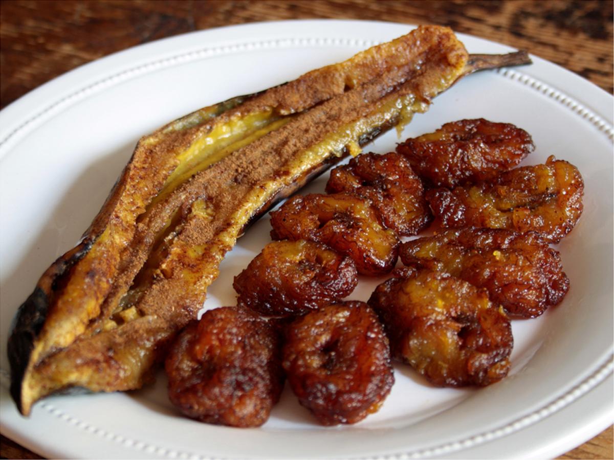 Banana da terra frita (Platano fritto)