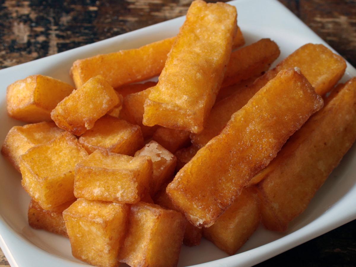 Polenta frita (Polenta fritta)