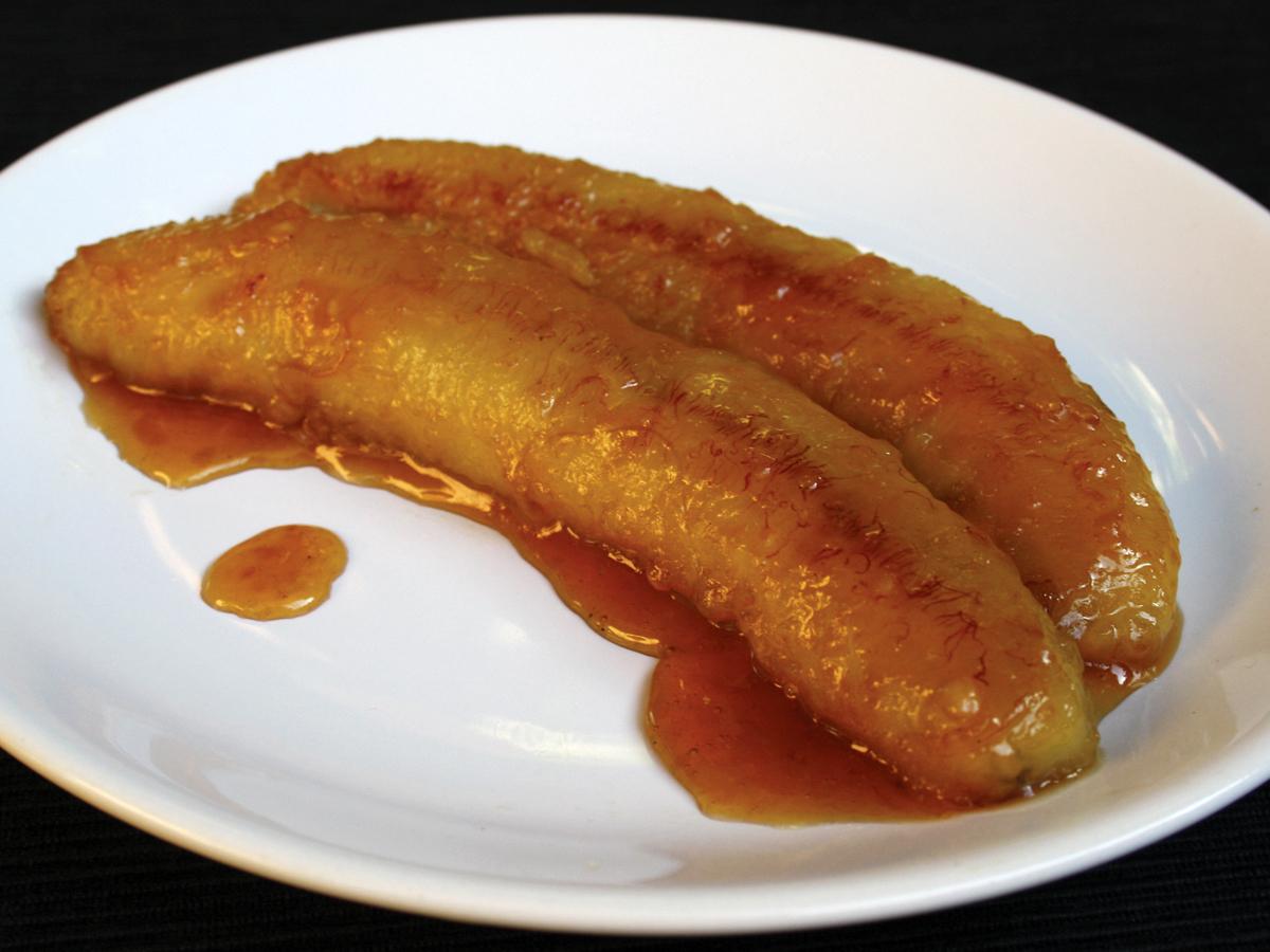 Banana frita no açúcar (Banana caramellata)