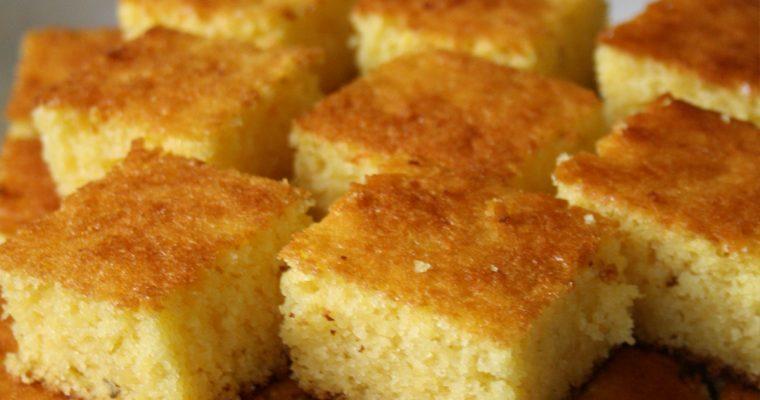 Bolo de fubá (Torta di farina di polenta)
