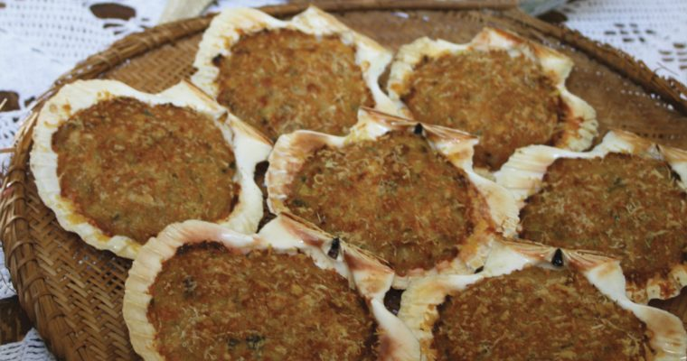 Casquinha de siri (Stuffed Crab Shells)