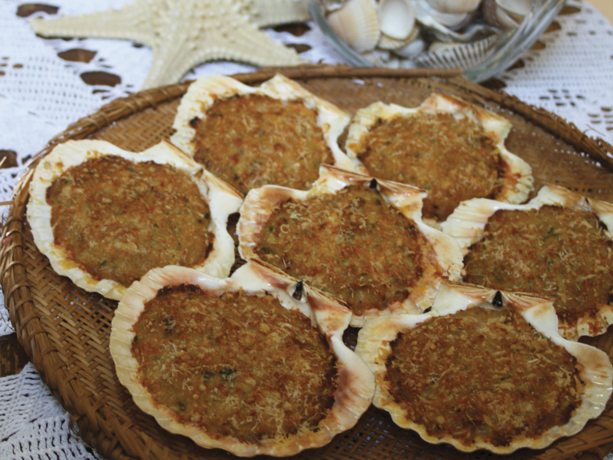 Casquinha de siri (Gusci di granchio ripieni)