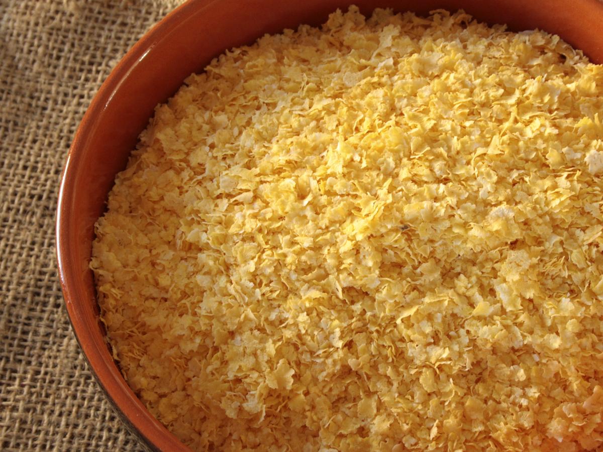 Farinha de milho em flocos(Farina di mais in fiocchi)