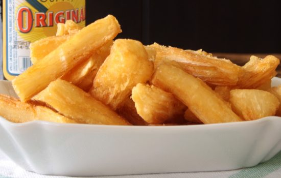 Mandioca frita