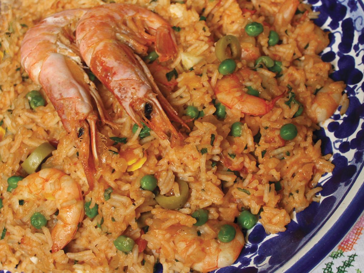 Risoto de camarão (Prawn Risotto)