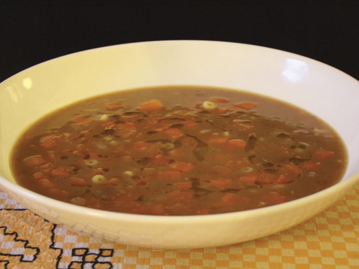 Sopa de feijão (Beans Soup)